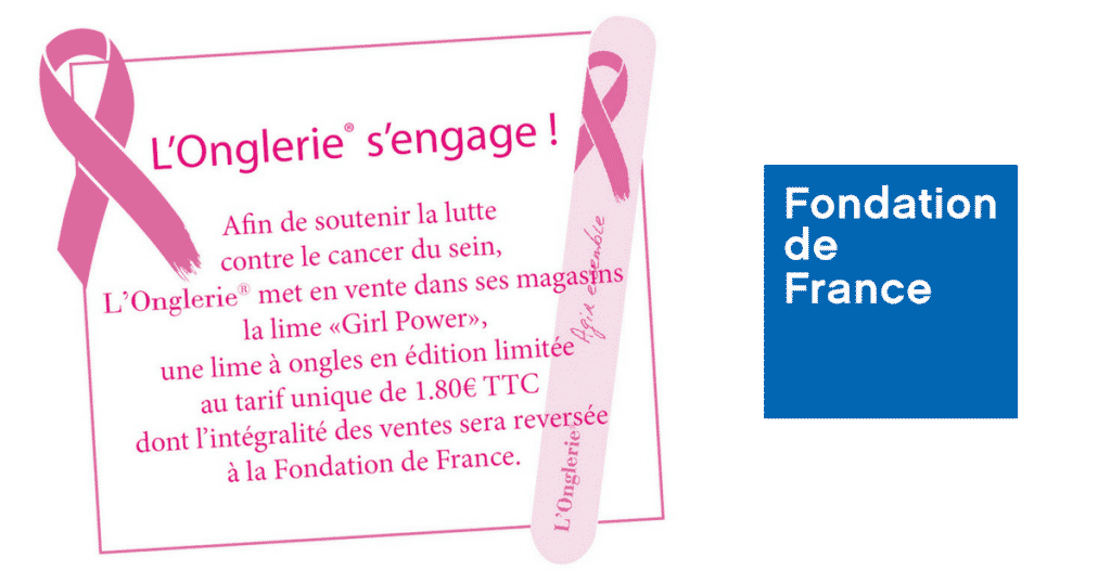 Lime Girl Power : L'Onglerie® s'engage contre le cancer du sein !